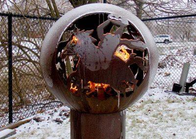 Halloween Fire Orb